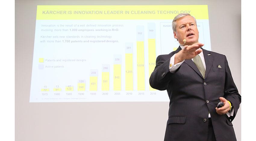 独ケルヒャーがデジタル化戦略を発表、IoTプラットフォームの小売販売も視野に