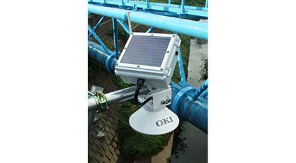 OKI、局地的豪雨などに対応するネットワーク型「ゼロエナジー超音波水位計」を販売開始