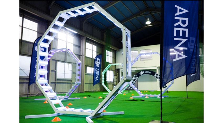 DJI、ドローンの室内飛行施設「DJI ARENA BY JDRONE TOKYO」をオープン
