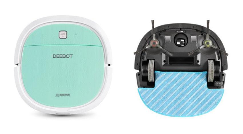 エコバックスジャパン、スマホアプリに対応したコンパクトサイズロボット掃除機「DEEBOT MINI2」を発売