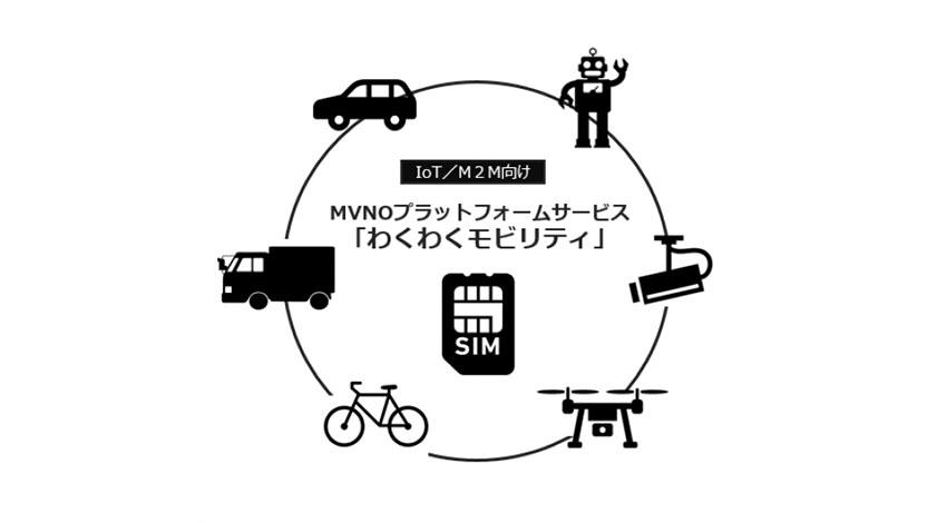 レンジャーシステムズ、レイヤ2接続型MVNOプラットフォーム「わくわくモビリティ」を初期費用0円から提供