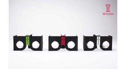 エフマイナー、折りたたみ式VRグラス「カセット」の事業者向けカスタマイズ提供を開始