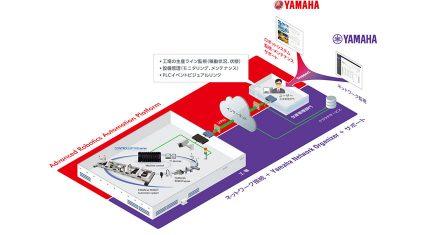 ヤマハ発動機とヤマハがIoTで協業、産業用ロボットの遠隔管理システムパッケージを共同開発