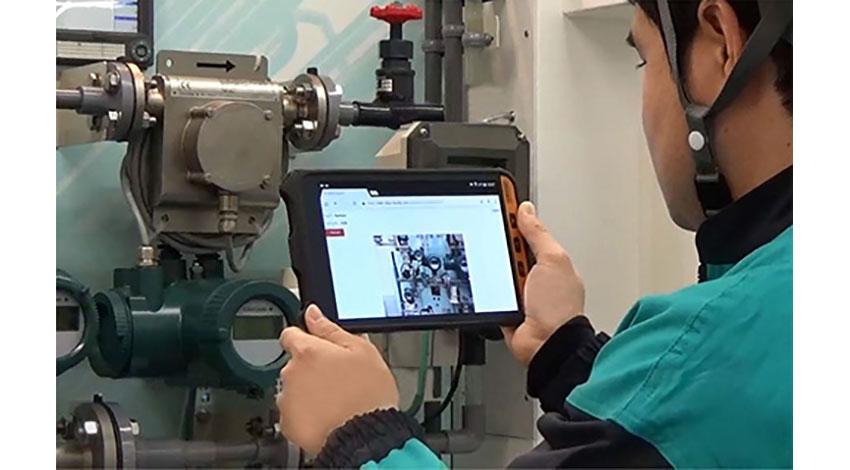 横河電機、AR技術を活用したプラントのコミュニケーション支援サービス「SensPlus Buddy」を発売