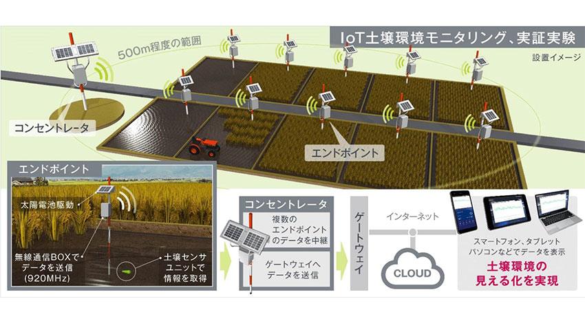 ロームグループのラピスセミコンダクタ、pHなど土壌環境をリアルタイムで見える化する土壌センサユニット「MJ1011」を開発