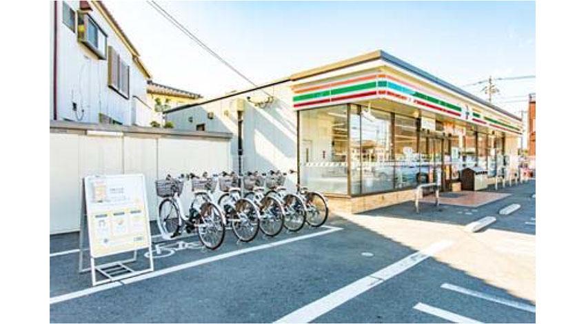 セブン‐イレブンとOpenStreetが自転車シェアリング事業で協業