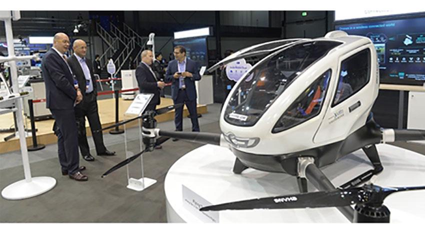 ファーウェイ、空飛ぶタクシーなど低空域でのデジタル経済の実現を目指す「デジタルスカイ計画」を発表