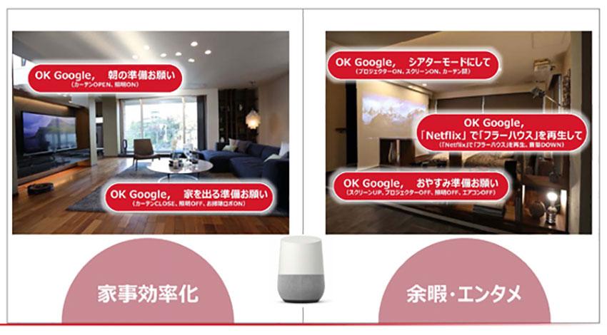 コネクテッドホームにGoogle Homeを活用、大和ハウスが「Daiwa Connect(ダイワ コネクト)」プロジェクト開始