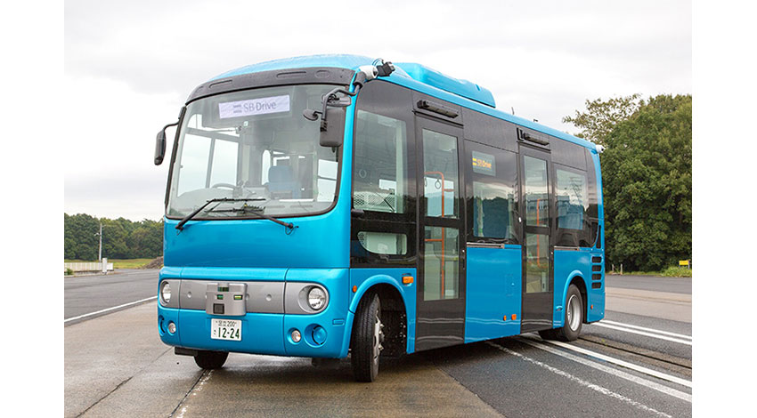 内閣府のバス自動運転実証実験、ソフトバンク・先進モビリティの「沖縄自動走行バスコンソーシアム」が受託