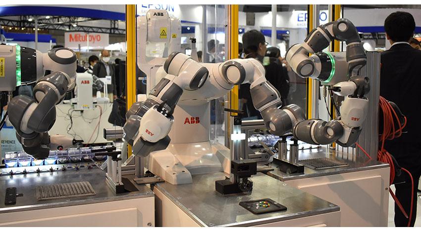ABBの協働ロボットYumiファミリー、新たにシングルアーム型を発表
