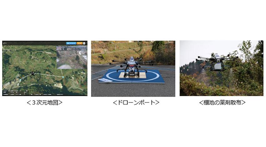 KDDI、モバイル通信ネットワークを活用した「スマートドローン」の完全自律飛行で約6.3kmを実現