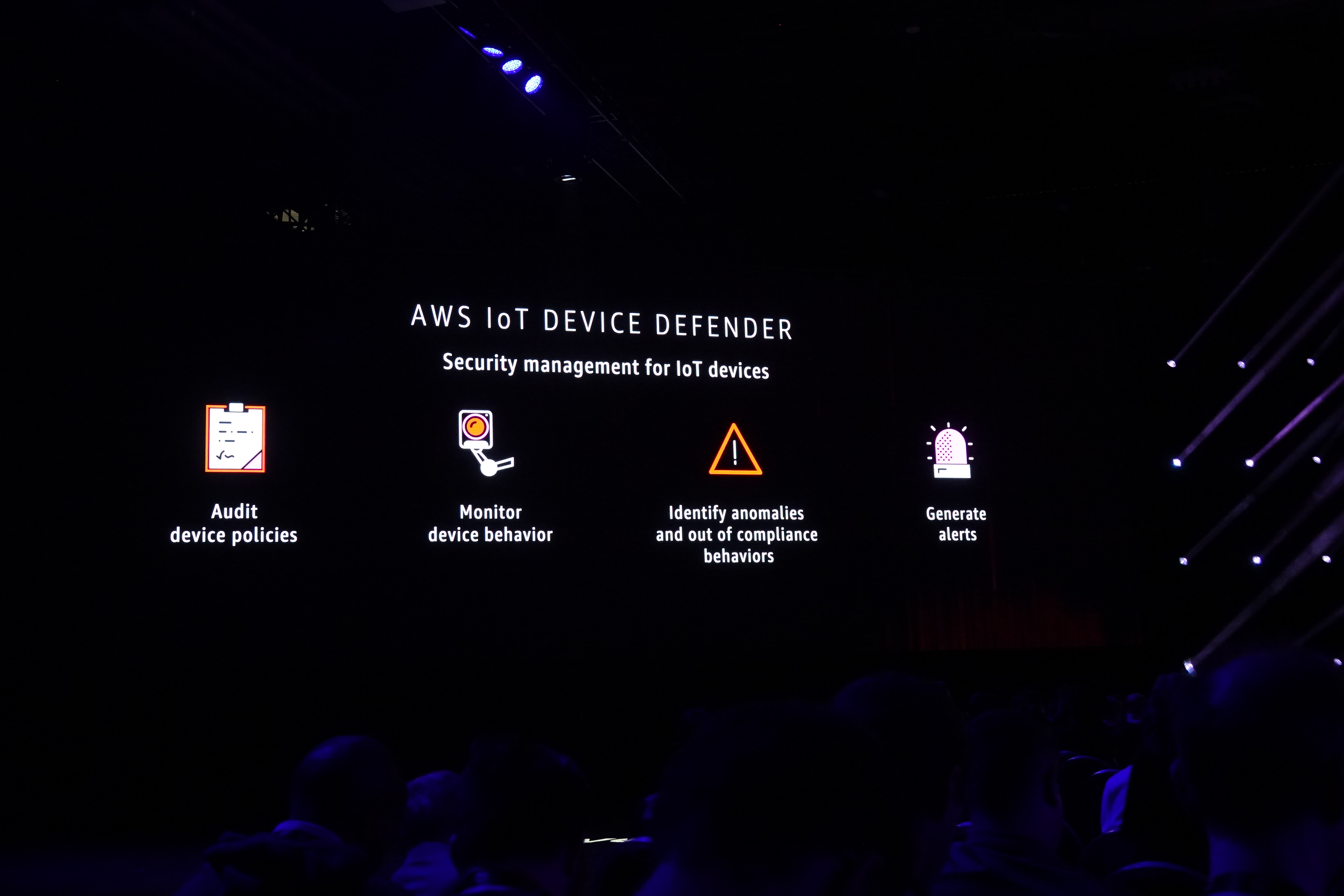 AWS IoT DEVICE DEFENDER