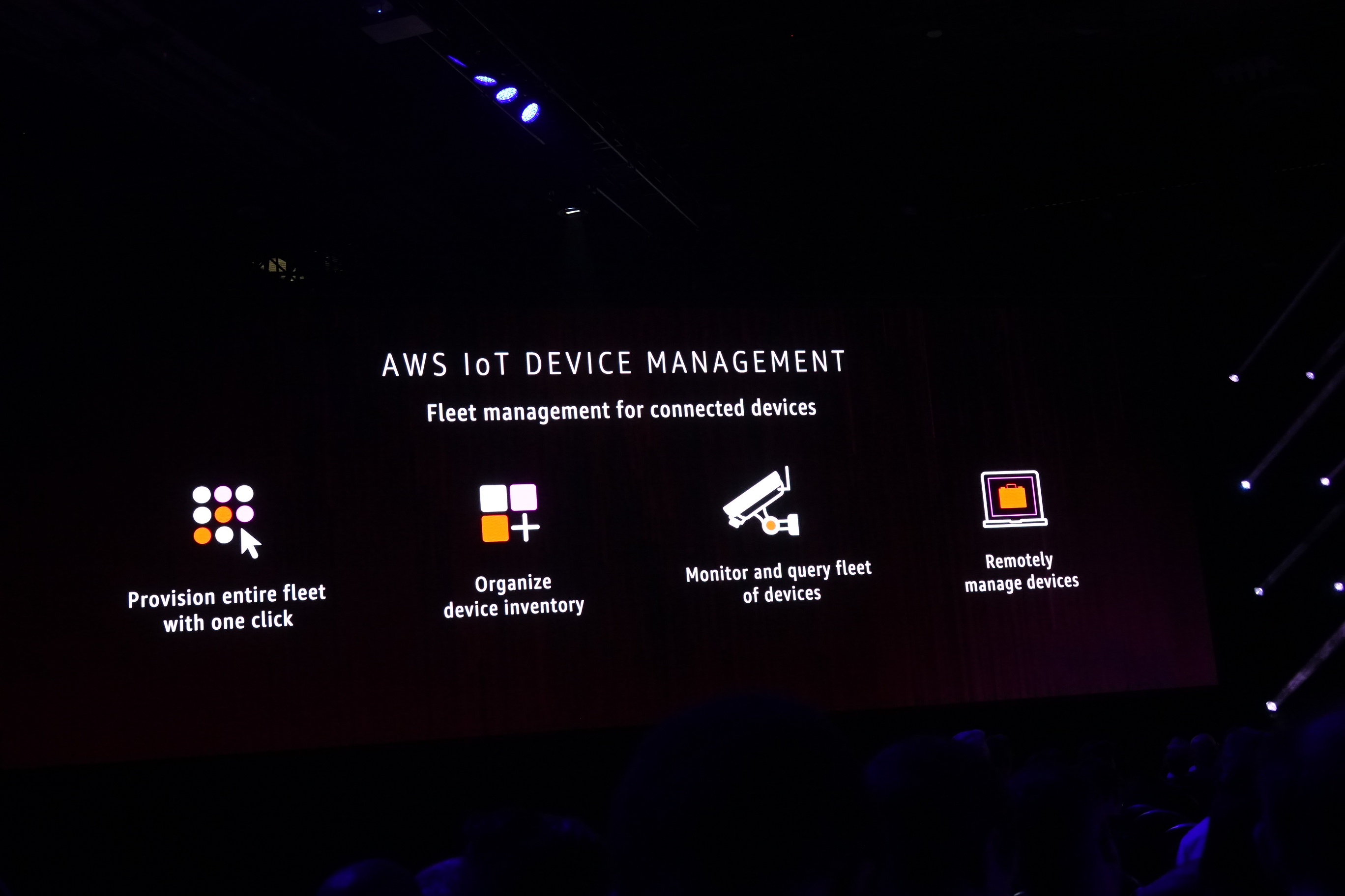 AWS IoT DEVICE MANAGEMENT