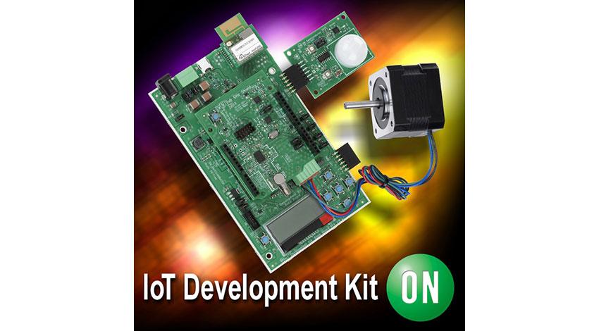 オン・セミコンダクター、BLE・バッテリ不要ワイヤレスセンサ対応のIoT開発キットをリリース
