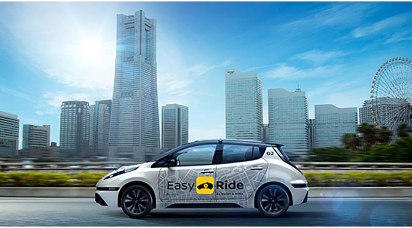 日産自動車とDeNA、無人運転の交通サービス「Easy Ride」を発表、一般モニターが参加できる実証実験を開始