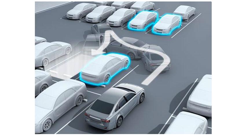 デンソー、自動駐車支援サービスの実証実験を開始