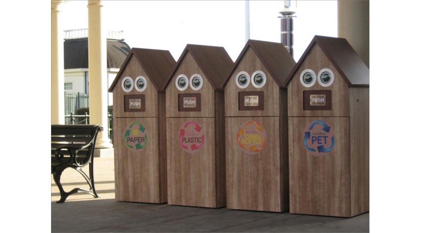 ゴミの量をIoTで見える化、GMOクラウド・ハウステンボス・ハピロボの3社、「スマートゴミ箱」の実証実験を開始