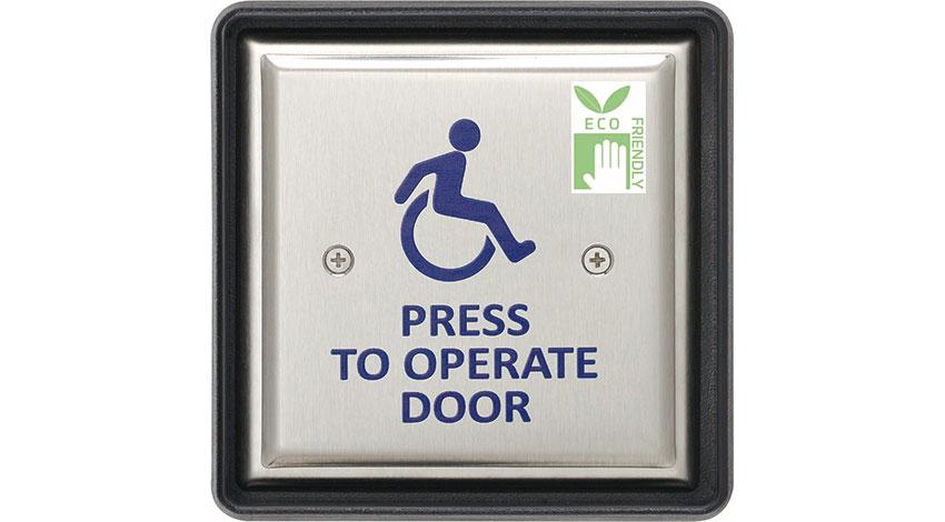 """オプテックス、""""押す力を利用して自ら発電する""""自動ドア開閉用スイッチを開発"""
