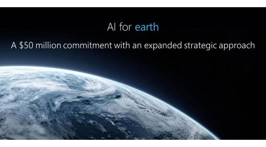 マイクロソフト、環境問題にAIで貢献するプロジェクト「AI for Earth」に投資拡大
