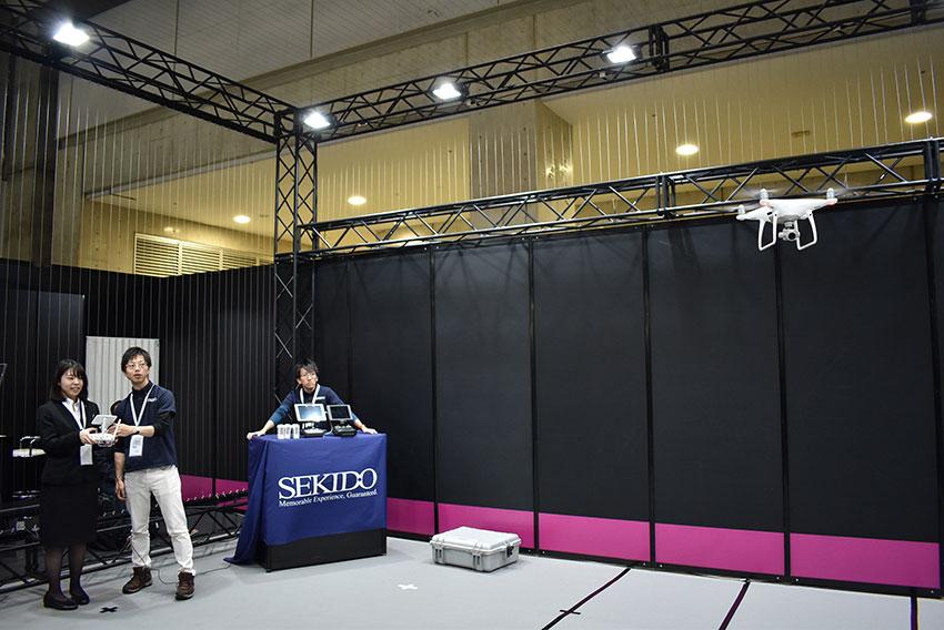 ドローンから3Dプリンタまで多様なIoT技術が登場、SEMICON JAPAN 2017 WORLD OF IOTレポート2