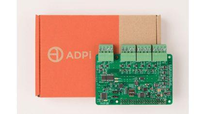 ラズベリーパイ用A/D変換モジュール「ADPi Pro」の正式販売を開始、メカトラックス
