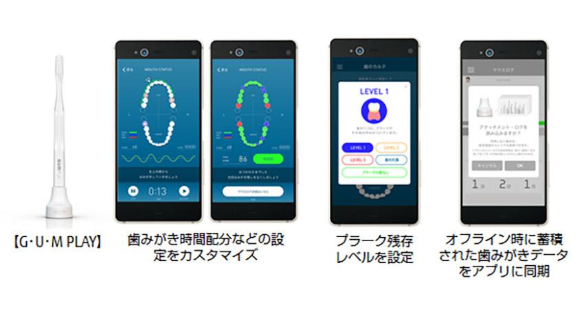 富士通とサンスター、IoTスマートハブラシとクラウドを連携、先進予防歯科サービスを開始