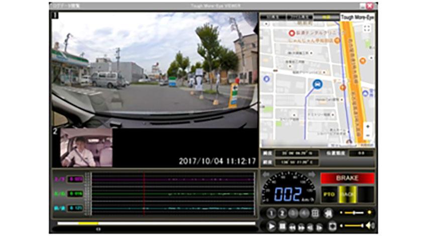 IoTデバイスにも接続可能、業務用ドライブレコーダ「Tough More Eye X」を発売、ファインフィットデザイン