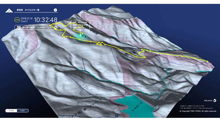 博報堂アイ・スタジオ、アウトドアインフラ向けIoTサービス「TREK TRACK」をスキー場にも提供