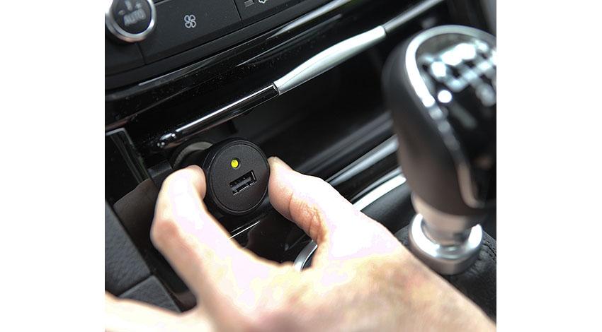 ドライバーの運転行動データを可視化、ボッシュの「テレマティクスeCallプラグ」、福岡市で検証