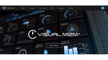 アプトポッド、自動車の研究開発向けIoTクラウドサービスパッケージ 「Visual M2M Automotive Pro」をリリース