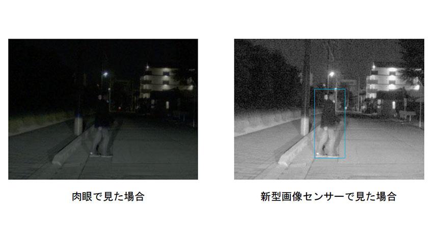 夜間の歩行者など認識対象を拡大、デンソーが新型画像センサーを開発
