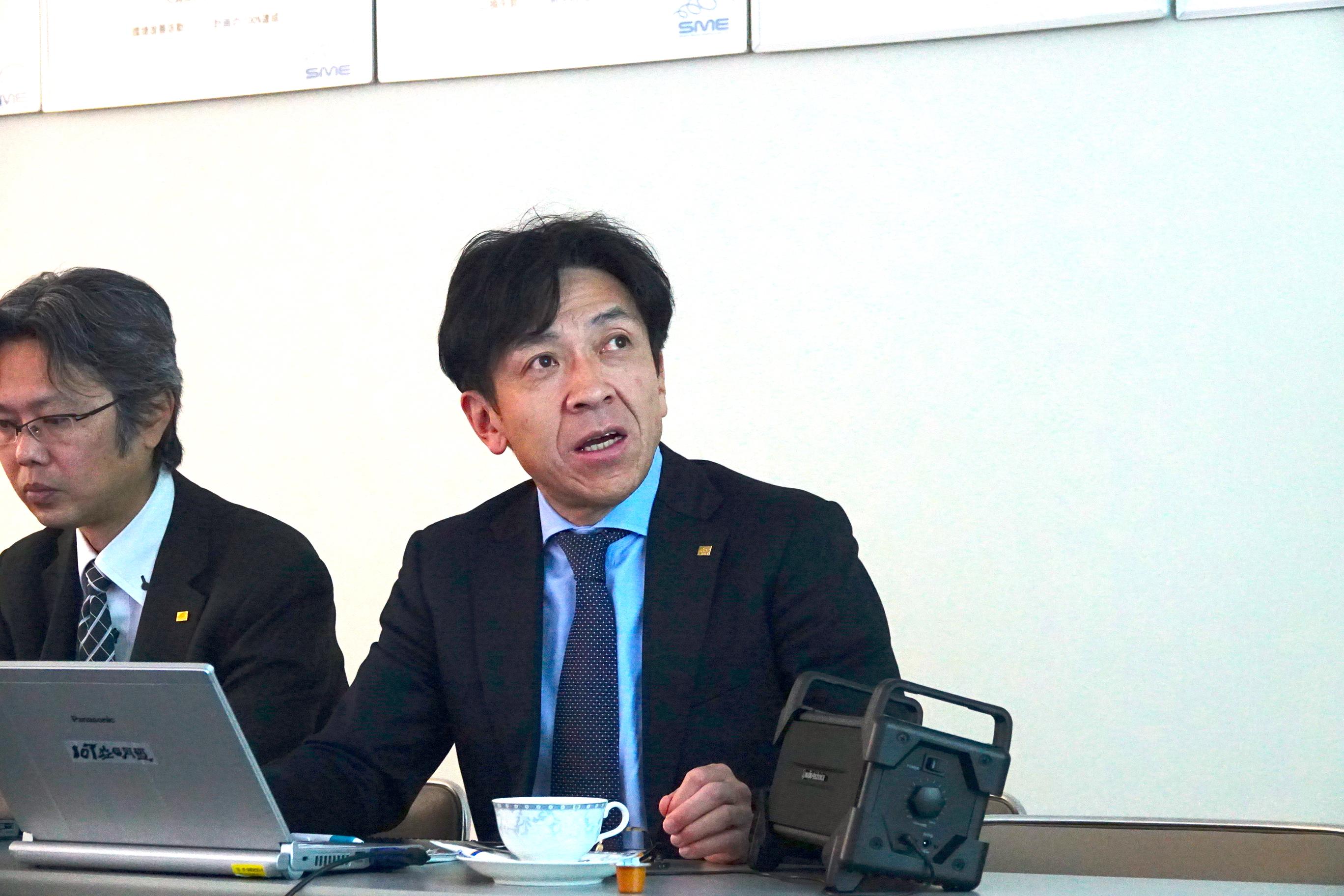 シマネ益田電子 取締役服車掌 平谷 太 氏