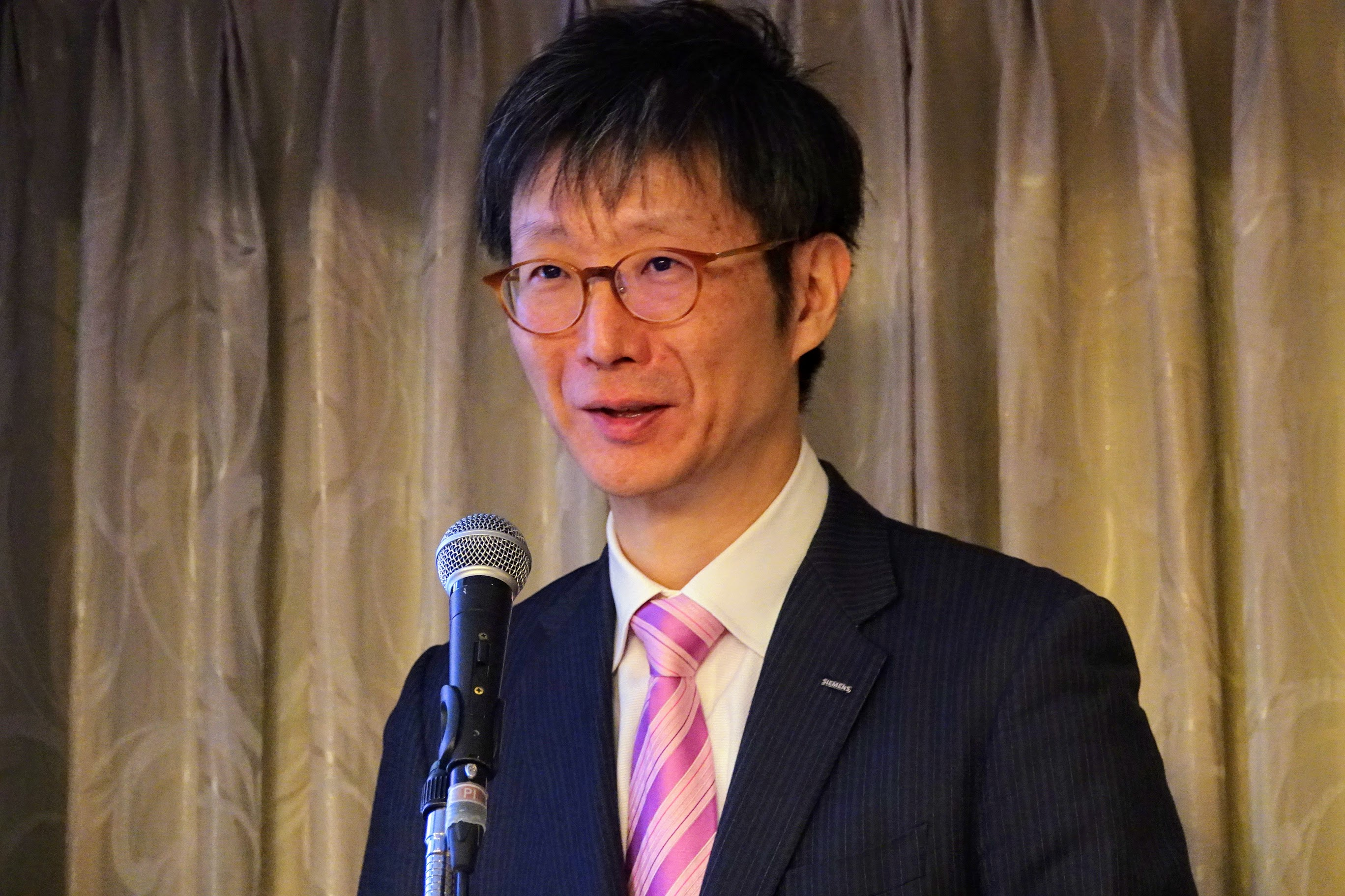 シーメンス株式会社 専務執行役員 島田太郎氏