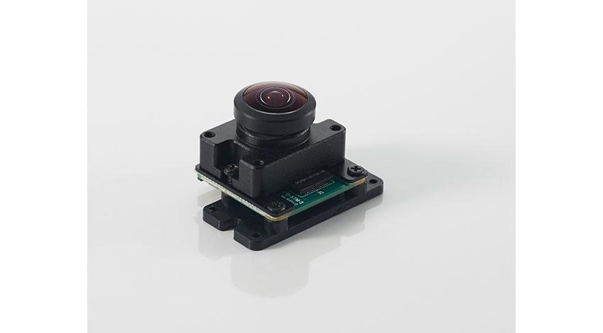 アールエスコンポーネンツ、Raspberry Pi用超広角カメラモジュールVR220の販売を開始
