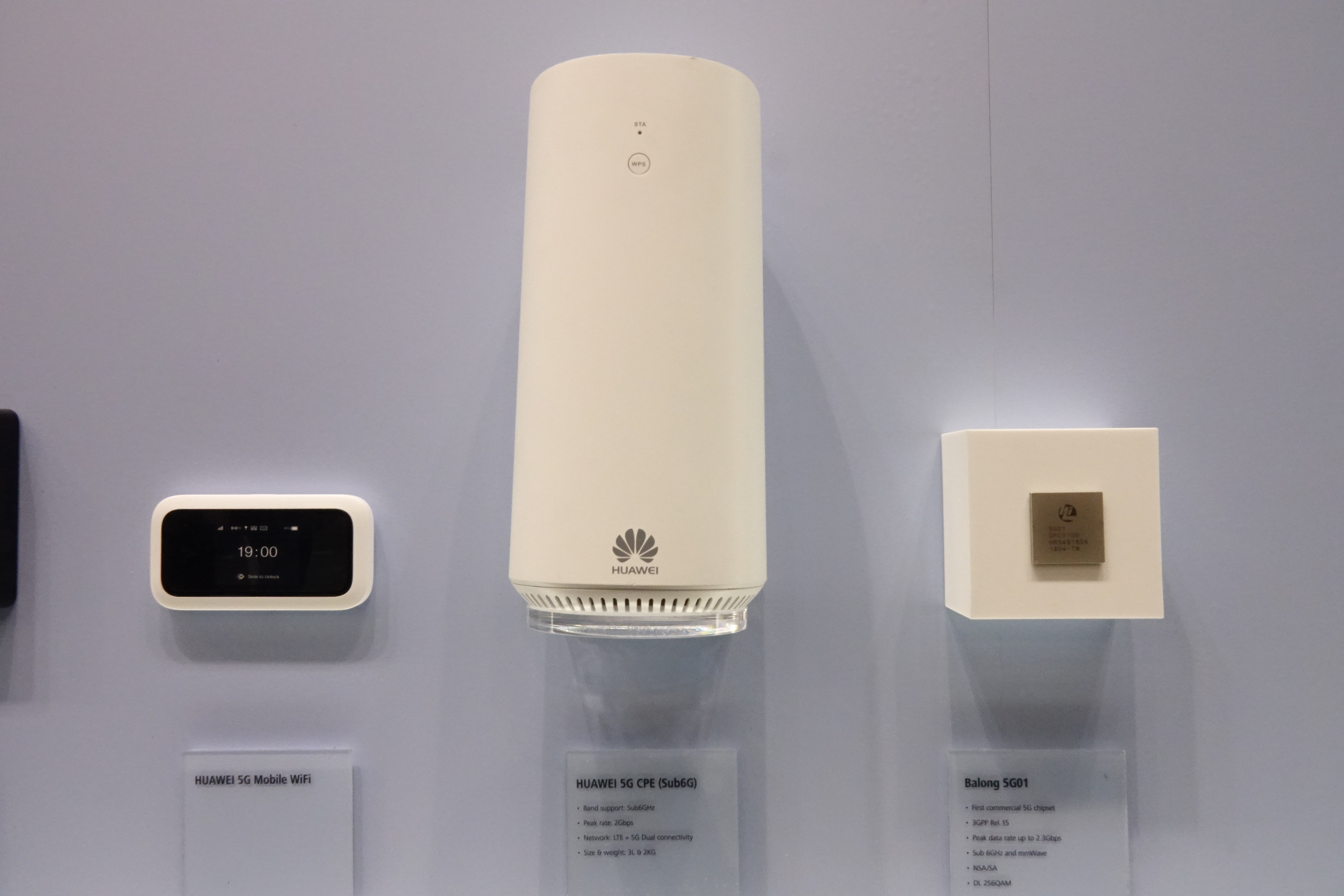 MWC2018 Huawei(ファーウェイ)