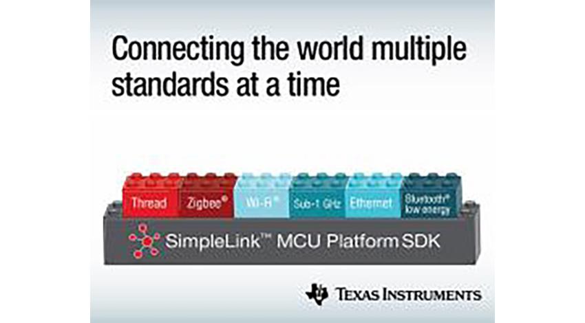 テキサス・インスツルメンツ、マルチスタンダード、マルチバンドの通信を提供する SimpleLinkマイコン製品プラットフォームを発表