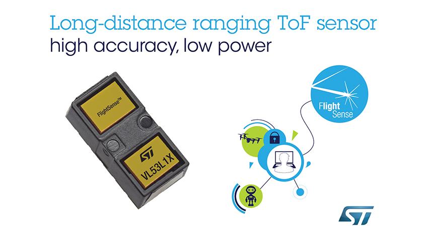 STマイクロエレクトロニクス、最大4mまで測定できる次世代ToF測距センサを発表