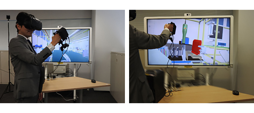 NEC、次世代ヒューマンインタラクション技術と連携させた法人向けVRソリューション2種類を開発