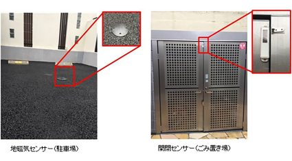 レオパレス21とKDDI、不正駐車・ごみ出しの遠隔監視にIoTを活用する実証実験