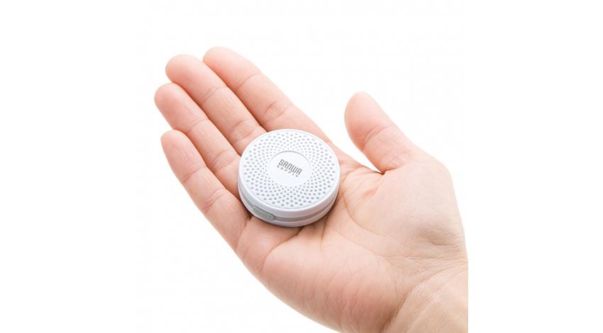 サンワサプライ、位置情報によるサービス提供や温湿度管理に使えるBLEビーコンを発売