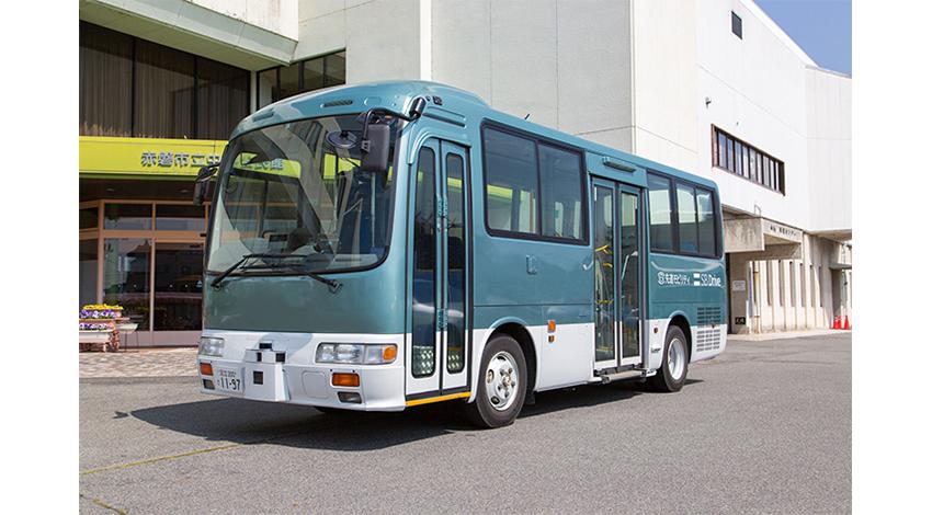 SBドライブと宇野バス、「バス自動運転サービスの実用化に向けた実証」に合意