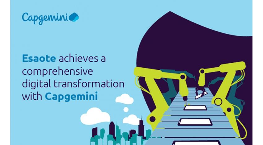 キャップジェミニ、Esaote社のデジタルトランスフォーメーションをサポート
