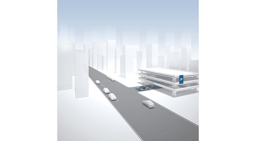 ボッシュとe.GO、アーヘンでストレスのない駐車システムを導入