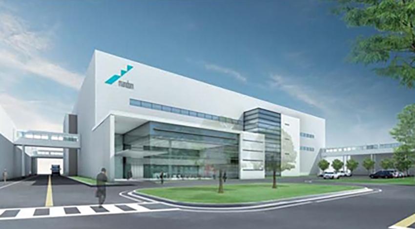 マンダムが福崎工場に新生産棟を建設、IoTやロボットを活用