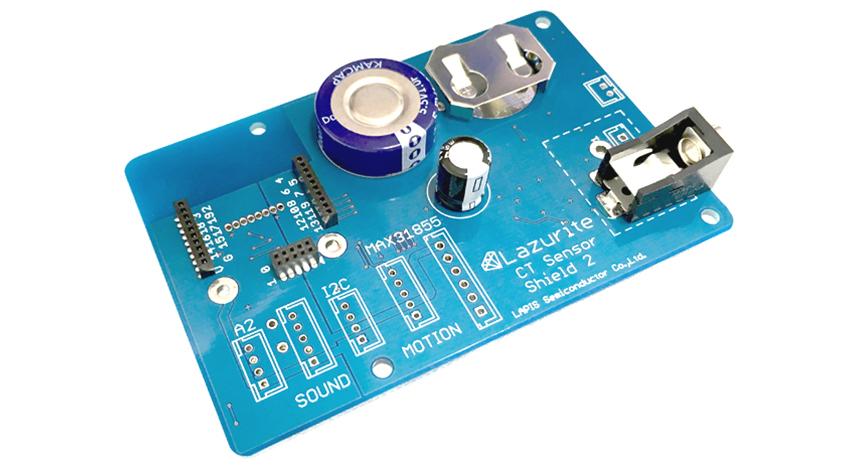 ラピスセミコンダクタ、既存の製造装置の稼働状況をモニタリングする電流センサ用「CT Sensor Shield 2」を販売開始
