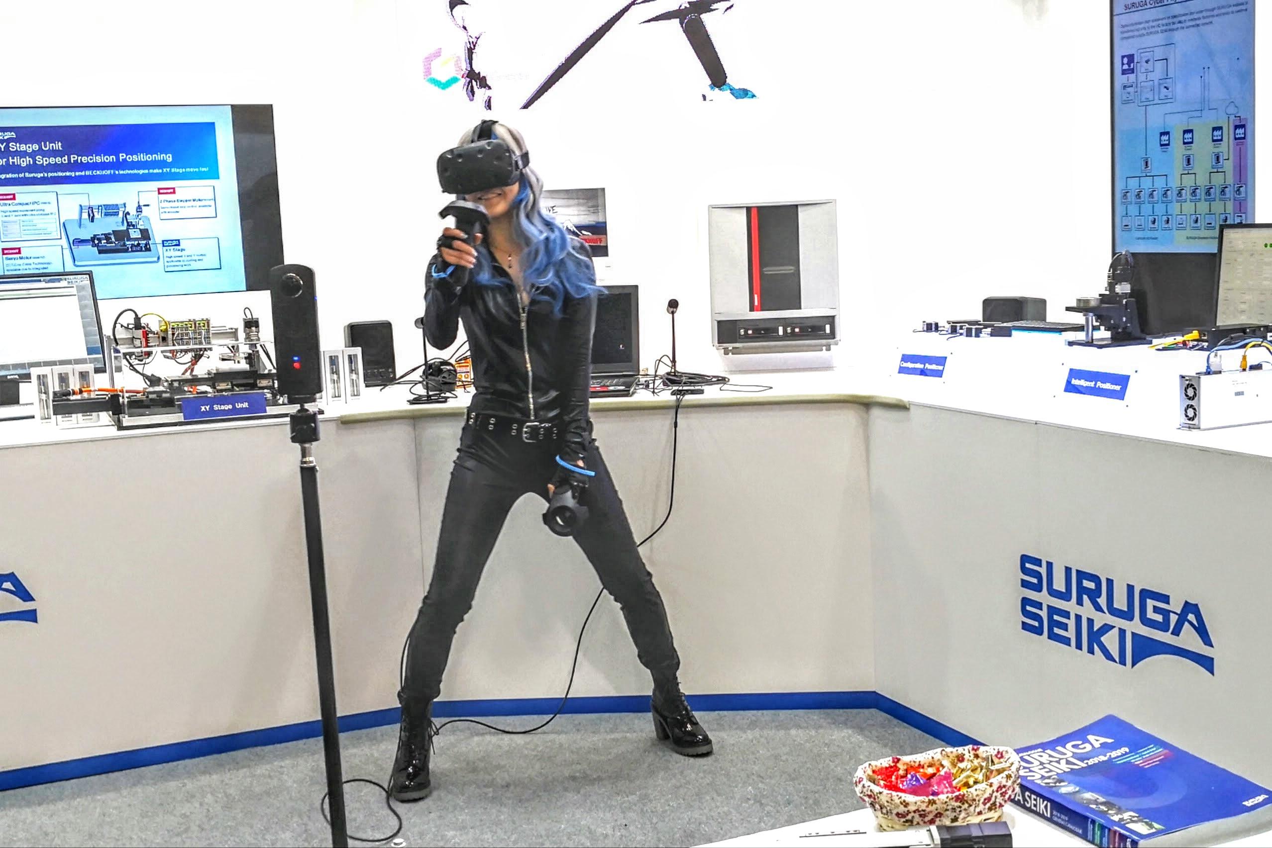VRアーティスト・せきぐちあいみ ハノーバーメッセ