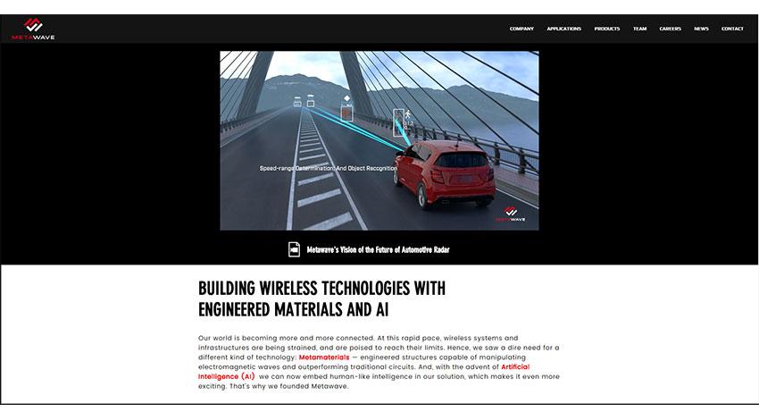 デンソー、米スタートアップのMetawave社に出資、ミリ波レーダーの技術開発を加速