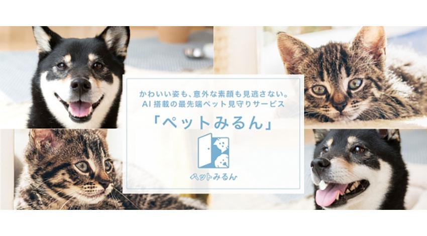 東京電力エナジーパートナー、AI搭載のペット見守りサービス「ペットみるん」の提供を開始