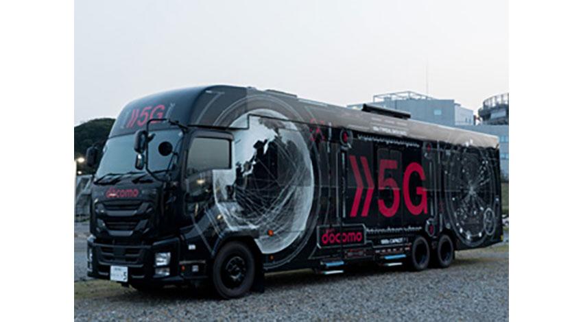 ソニービジネスソリューション、NTTドコモの「5Gデモバス」内に仮想空間を実現