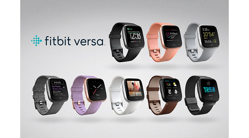 フィットビット新製品「Fitbit Versa」発売、SOMPOが約300台導入